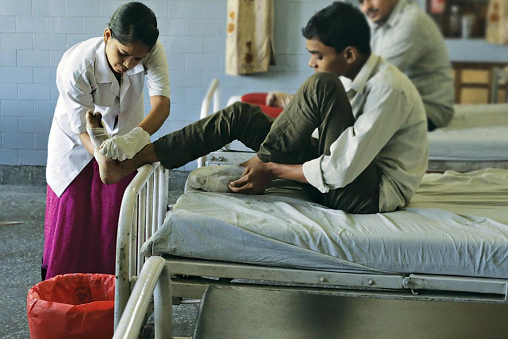 Antibiotic resistance is making treatment of infectious diseases like leprosy almost impossible (Photograph: Vikas Choudhary)