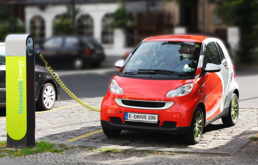 Electric car. Photo: Wikimedia Commons
