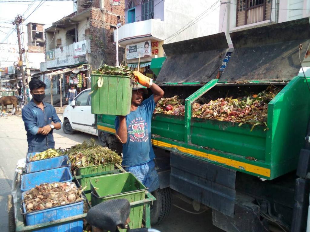 Waste collection. Photo: Dinesh Raj Bandela
