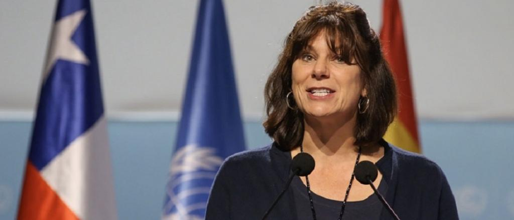 Sacked CoP 26 President Claire Perry O'Neill. Photo: @Cop26President / Twitter