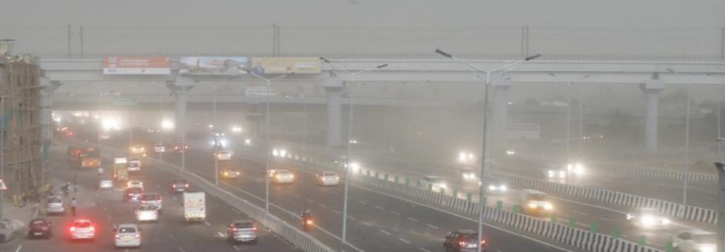 Air pollution in Delhi. Photo: CSE
