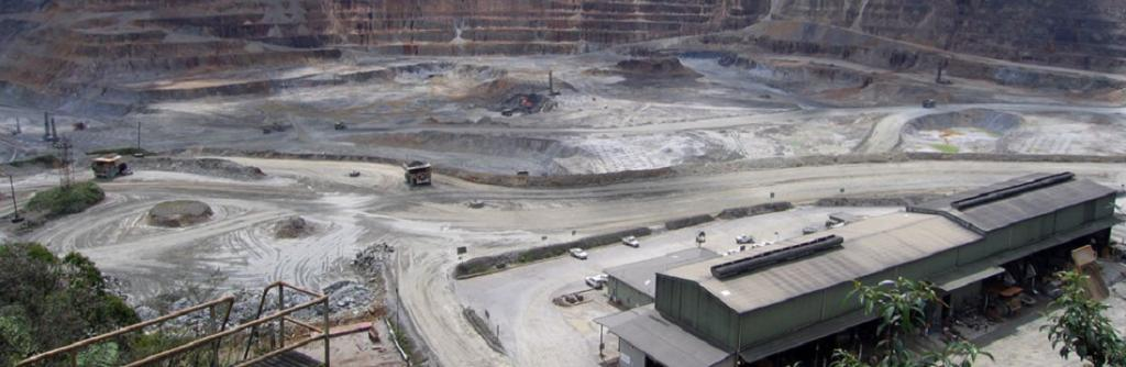 The OK Tedi mine in Papua New Guinea. Photo: Wikimedia Commons