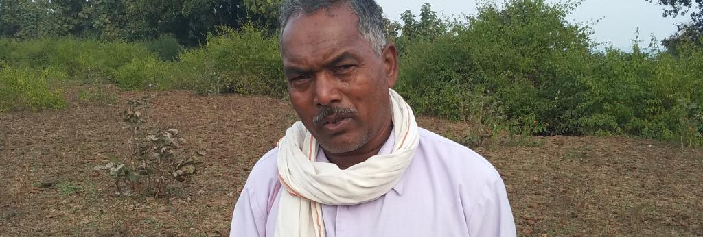 Dadu Lal Kundapa galvanised 54 tribal villages to say no to forced evictions. Photo: Anil Ashwani Sharma