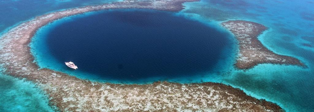 Blue hole. Source: Flickr