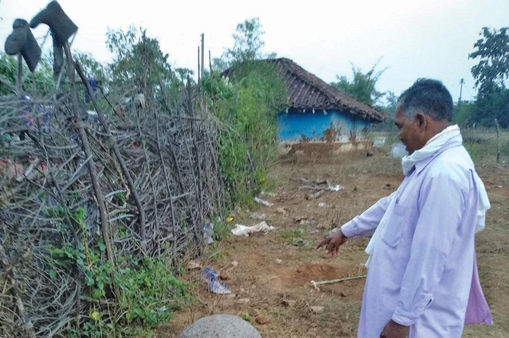 चुटका के इस इलाके से भूमि परीक्षण की कोशिश की गई, लेकिन ग्रामीणों ने उसका विरोध किया। फोटो: अनिल अश्वनी शर्मा
