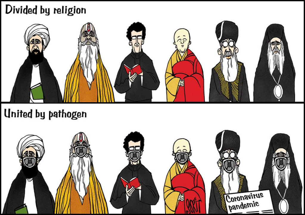 Simply Put: Religion and pathogen