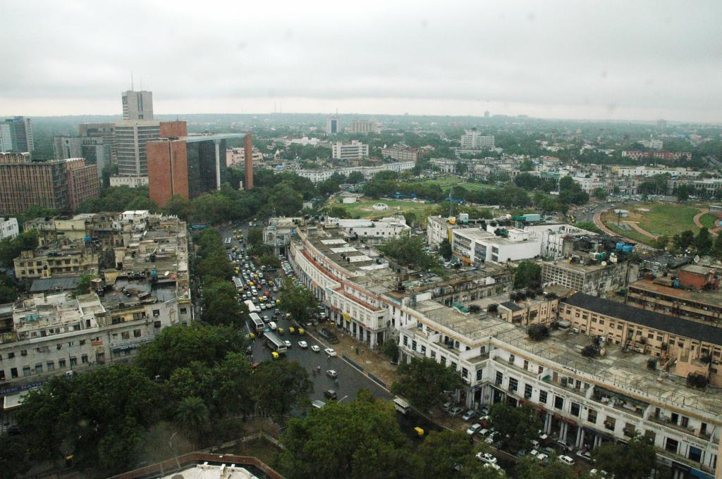 Delhi's Connaught Place; there is a pronounced lacuna in the governance of urban commons. Photo: Samrat Mukharjee