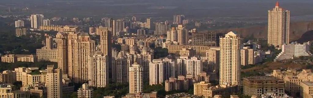 Mumbai's urban landscape. Source: Wikimedia Commons