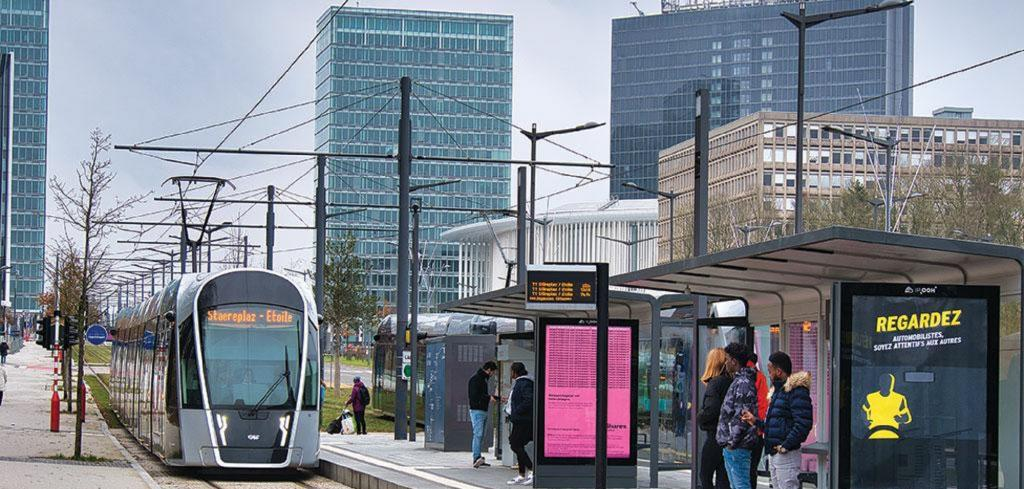 Luxembourg has lifted fares on trains, trams and buses