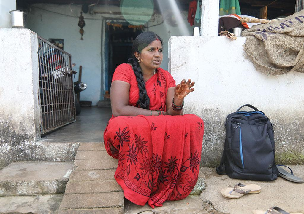 Telangana has one the highest rates of hysterectomy cases in the country: 7.7  (Left) Girija Balka, a 34-year-old woman from Thandrial village in Telangana