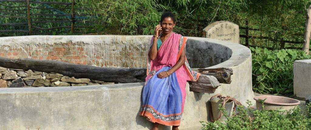 Kuntala, in Odisha's Khampur village. Photo: Trickle Up