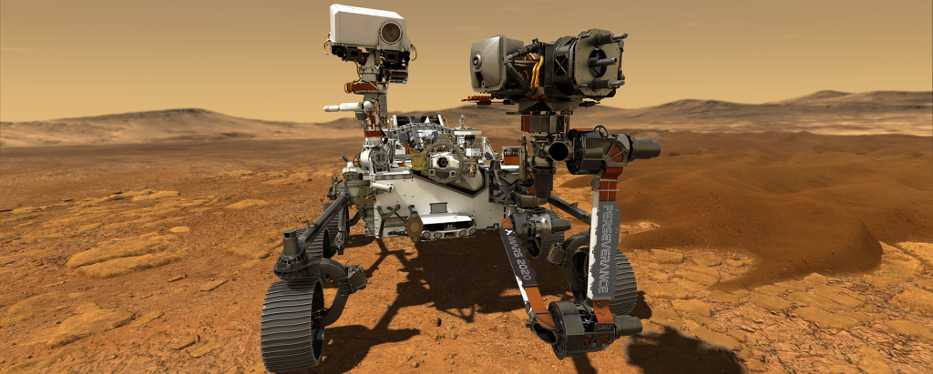 NASA chose to name its Mars rover 'Perseverance' after holding a contest Photo: NASA