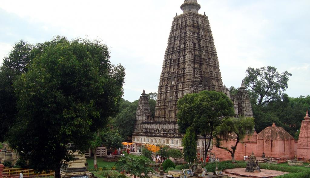 The Mahabodhi Temple in Bodh Gaya, Bihar. Photo: Wikimedia Commons