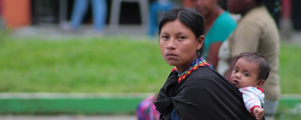 An indigenous woman in Columbia. Photo: Needpix.com