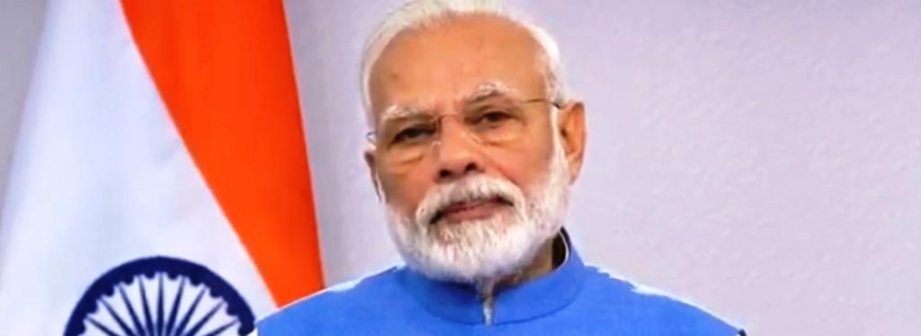 Narendra Modi made the pandemic another event. Photo: Twitter