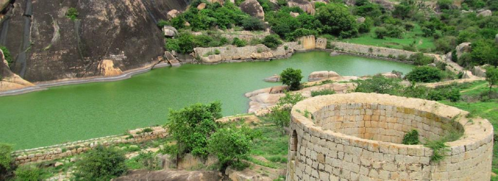 A view of the Chitradurga Fort in Karnataka's Chitradurga district Photo: Wikimedia Commons