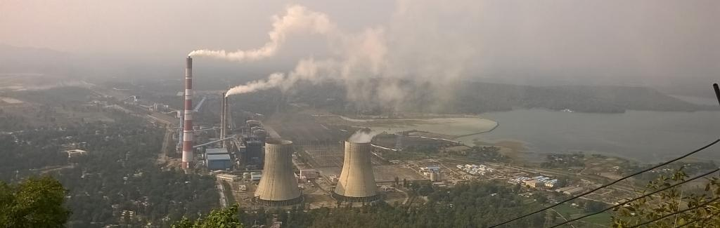 Singaji Thermal power plant. Wikimedia Commons