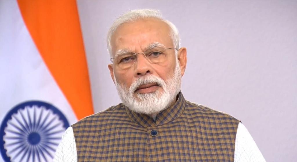 Prime Minister Narendra Modi addressed the nation on COVID-19 outbreak, on March 24, 2020. Source: PM's twitter handle
