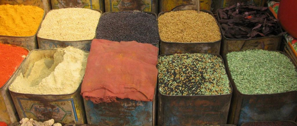 Spice available in India. Source: public domain pictures