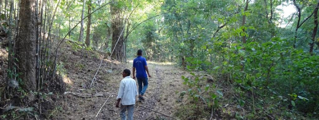 Villages inside Shoolpaneshwar Wildlife Sanctuary are using their community forest rights to prepare detailed watershed management plans for their CFR areas.
