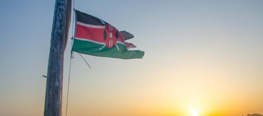 Kenya flag. Source: Pexels