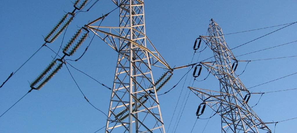 Electricity towers. Source: Wikipedia