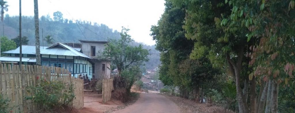 A deserted road in Meghalaya. Photo: Surendra Panwar
