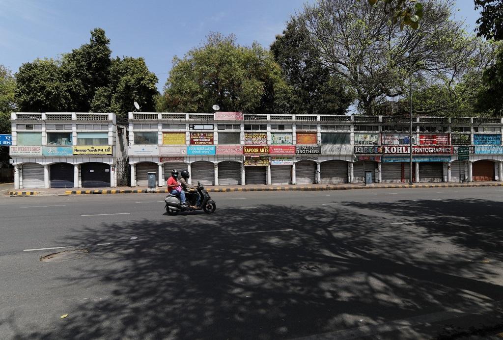 दिल्ली की बंद पड़ी जनपथ मार्केट। फोटो: विकास चौधरी
