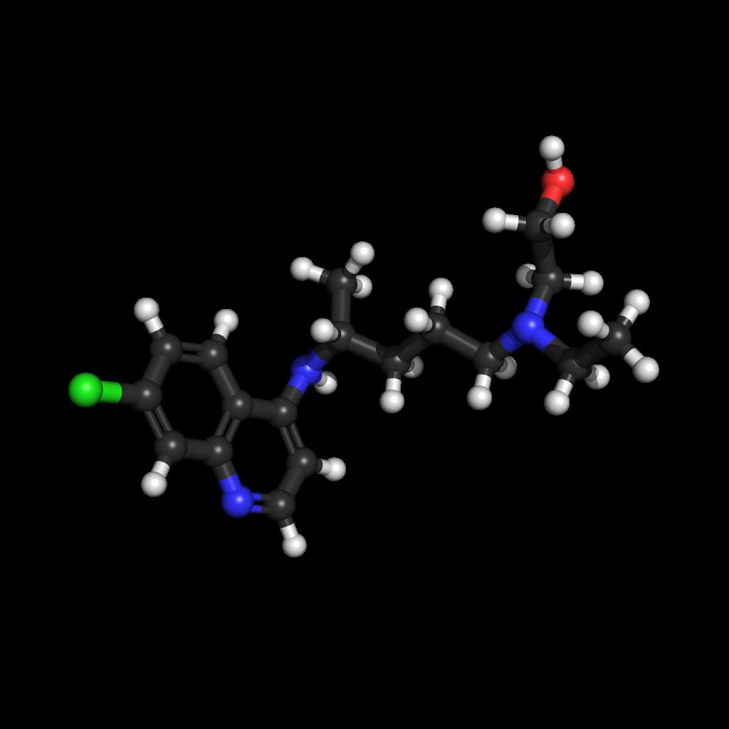 Hydroxychloroquine. Photo: Wikimedia