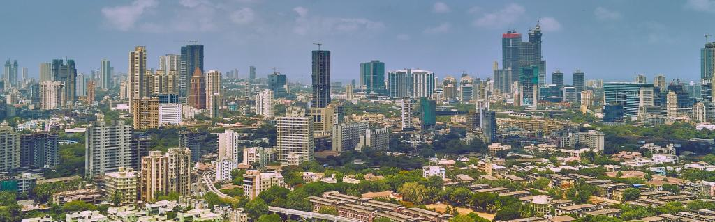 A view of Mumbai. Ensuring preparedness of health infrastructure against infectious diseases like COVID-19 today and in times to come, becomes crucial Photo: Flickr/Vidur Malhotra