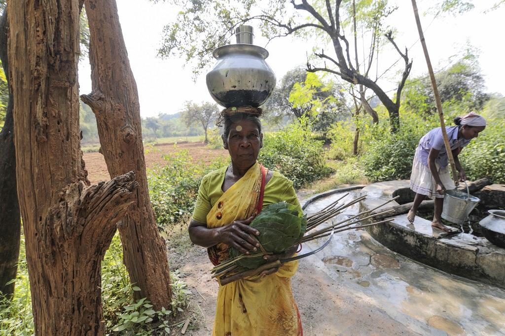 झारखंड के जंगलों में रह रहे लोगों का जीवन सामान्य रूप से चल रहा है। फाइल फोटो: विकास चौधरी