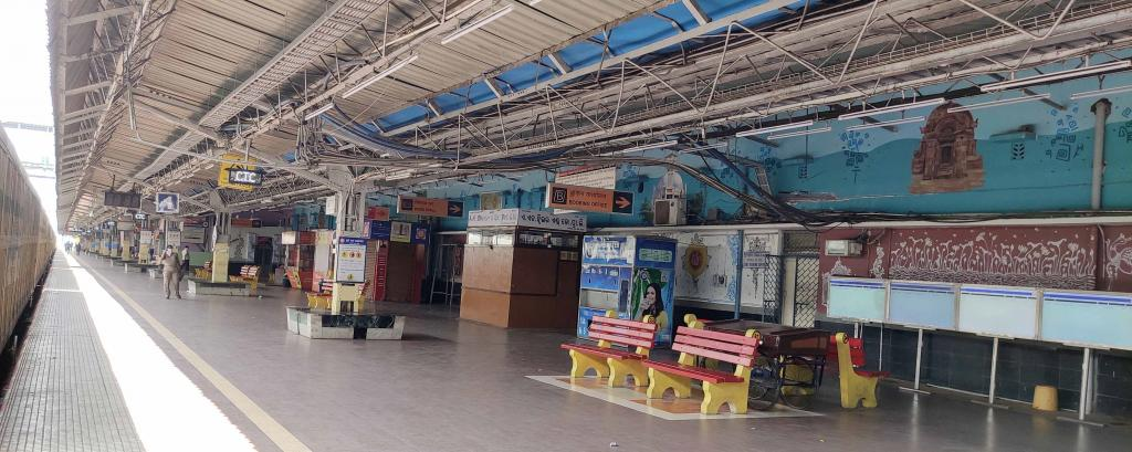 Deserted railway station, Cuttack, Odisha. Source: Ashis Senapati