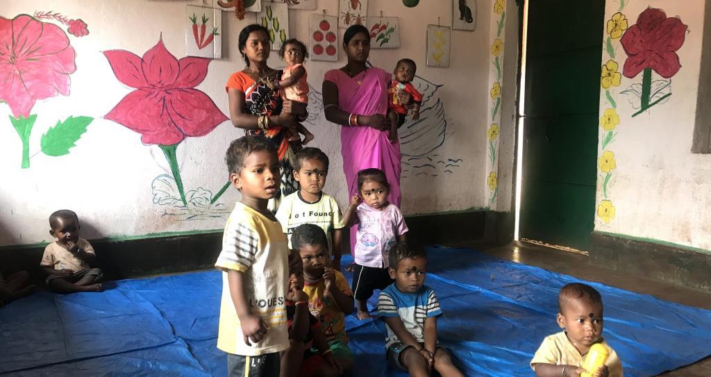A creche in Keonjhar. Photo: Chinmayi Shalya / CSE