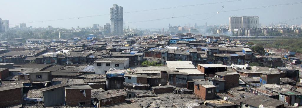 Dharavi in Mumbai is Asia's largest slum. Photo: Wikimedia Commons