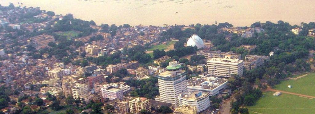 An aerial view of Bihar capital Patna Photo: Chandan Singh/Flickr