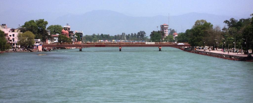 Ganga at Haridwar. Source: Wikimedia Commons