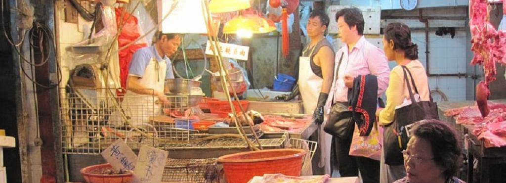 A Chinese wet market. Photo: pxfuel