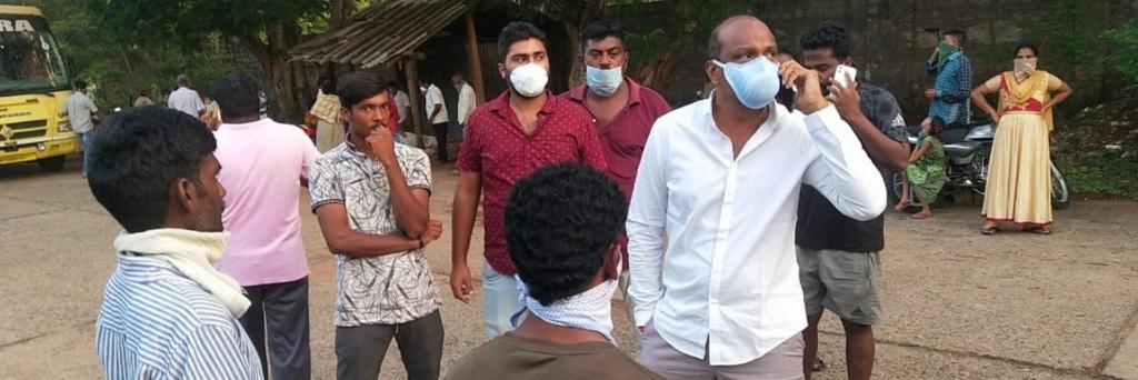The Vizag gas leak killed eight, hospitalised thousands Photo: Chandrababu Naidu/Twitter