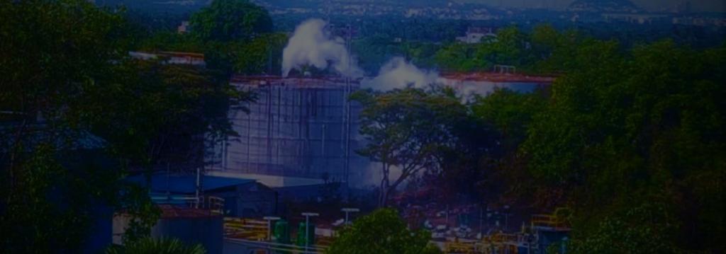 The Vizag gas leak has left nine dead Photo: Twitter