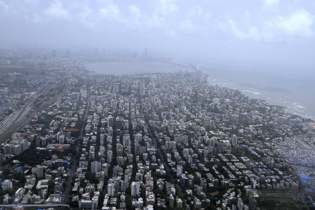 An aerial view of Mumbai. Maharashtra — with a fatality rate (number of deaths per 100 cases) of 3.77 — reported 33 per cent of the total cases in the country Photo: Needpix