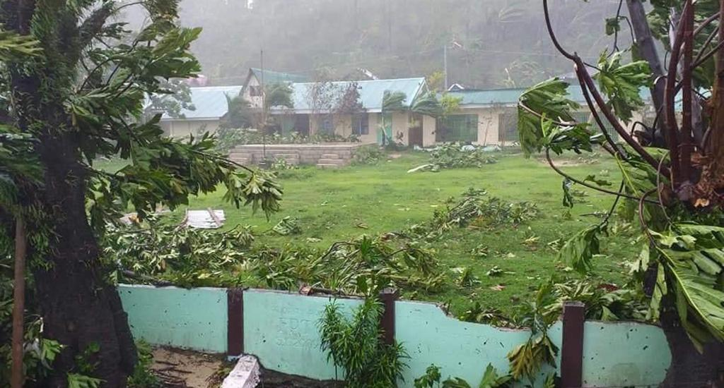 Northern Samar Governor Edwin Ongchuan said there were 10,000 evacuees because of the powerful typhoon. Government officials noted the difficulty of maintaining social-distancing in evacuation centres in the area, reported news channel CNN. Photo: Renzel John Copico