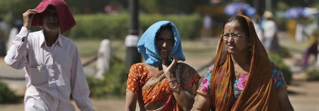 Ambient temperature in Delhi hit 47.5 degree Celsius on May 27 — the hottest day recorded in May in 18 years. Photo: Vikas Choudhary