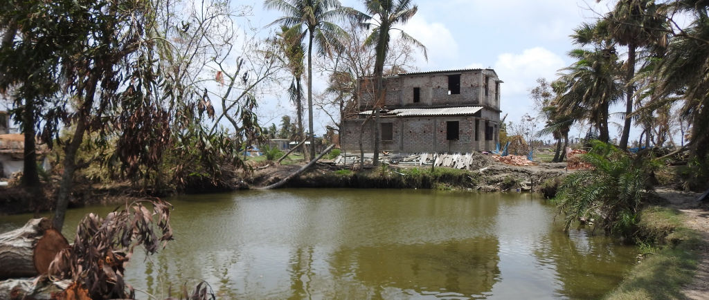 During Cyclone Amphan in Sundarbans. Bay of Bengal region received the highest number of cyclones in May and November between 1891 and 2018.