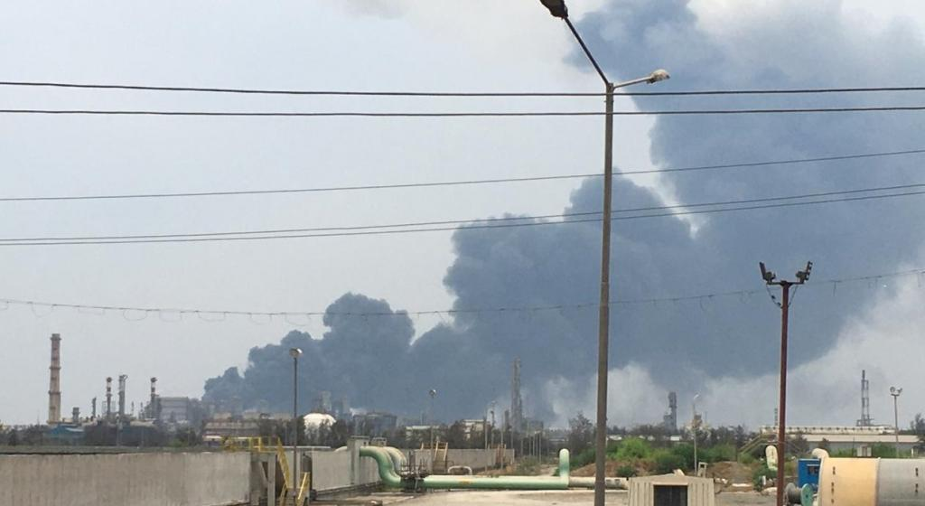 The explosion at Dahej has left a number of unanswered questions. Photo: Yash Pandey / Twitter