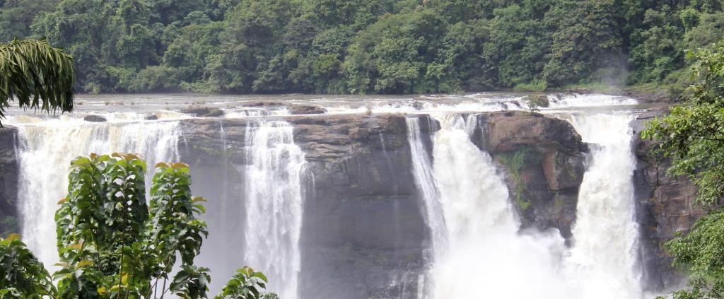 The majestic Athirappally waterfall draws 0.6 million tourists annually. Photo: K K Najeeb
