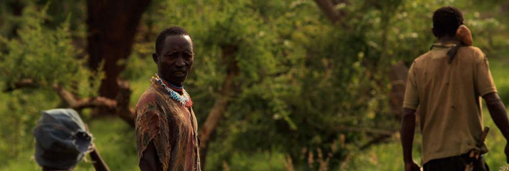 The Hadza are an indigenous, ethnic group in Tanzania. Indigenous and tribal people across the world have essentially been gaslit for a long time Photo: @survivalfr / Joanna Eede / Twitter