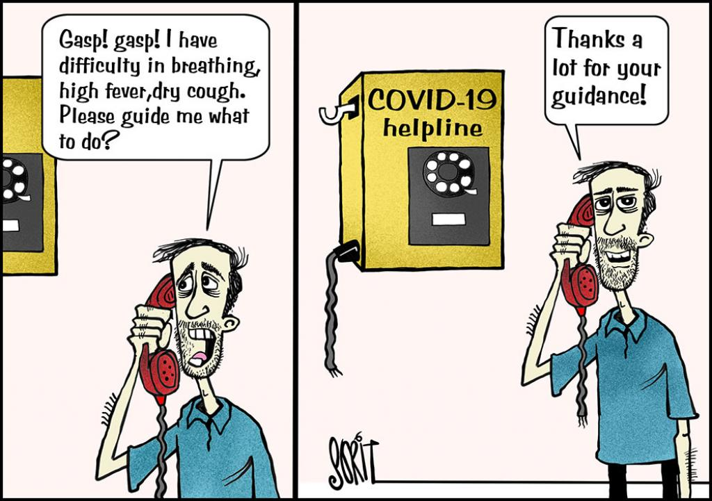 Simply Put: COVID-19 helpline