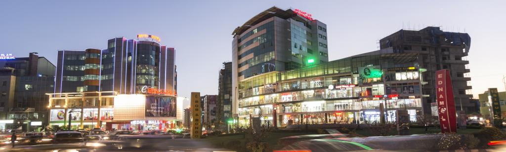 Addis Ababa, Ethiopia's capital. Plans are underway to give the city a facelift. Getty Images