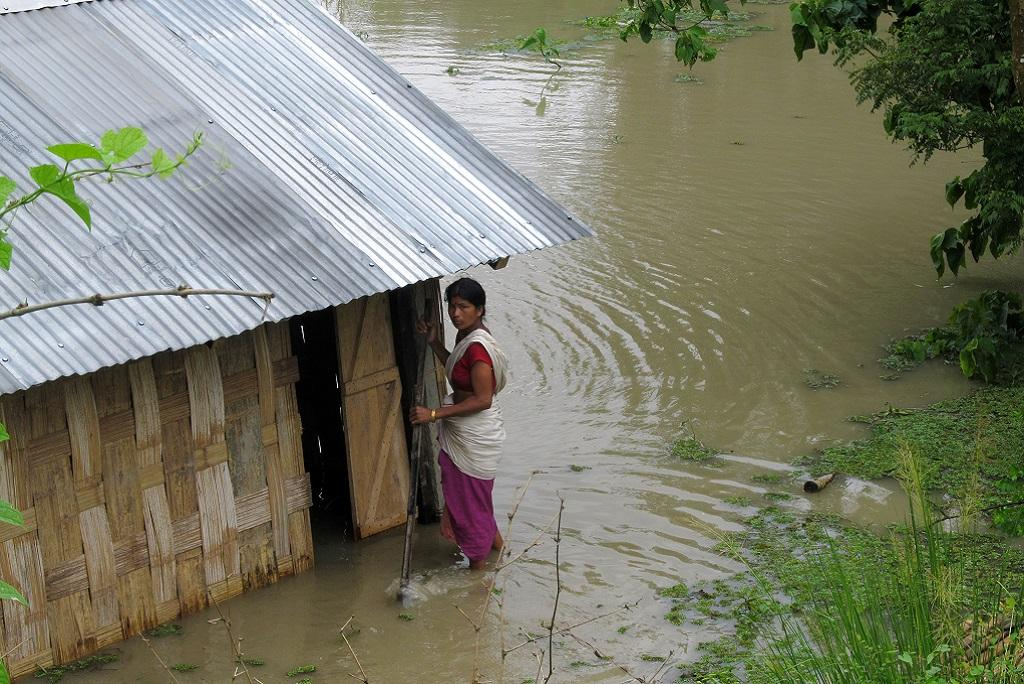 Extreme weather in northeast India