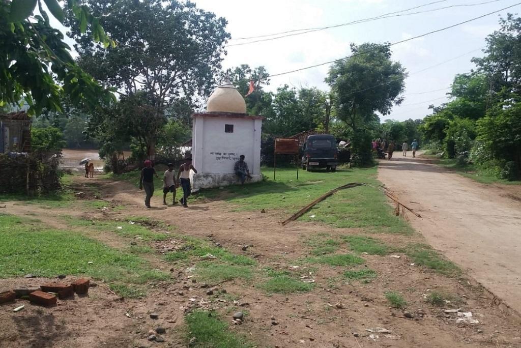 मध्यप्रदेश के मंडला जिले का गांव सिंगापुर, जिसके प्रभावित होने का खतरा है। फोटो: राजकुमार सिन्हा